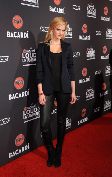 Erin Heatherton Leather Pants