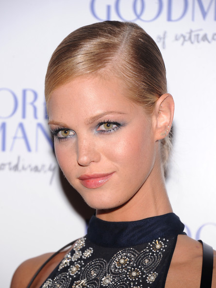 Erin Heatherton Bobby Pinned Updo