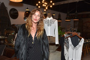 Erin Wasson Fur Coat