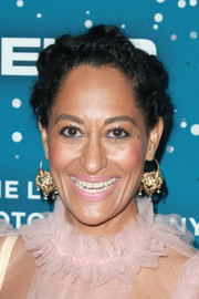 Tracee Ellis Ross attended the Essence Black Women in Hollywood Awards wearing her hair in a funky braided updo.