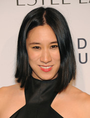 Eva Chen topped off her look with a simple graduated bob when she attended the Estee Lauder Modern Muse fragrance launch.