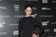 Eva Green Turns up the Glamour in a Black Tom Ford Dress