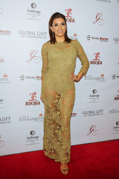 Eva Longoria Lace Dress