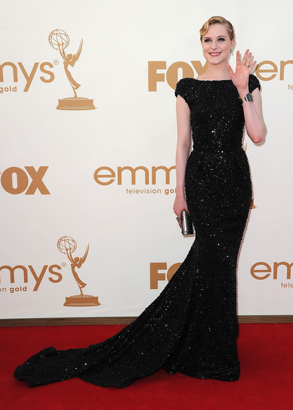 Evan Rachel Wood Evening Dress