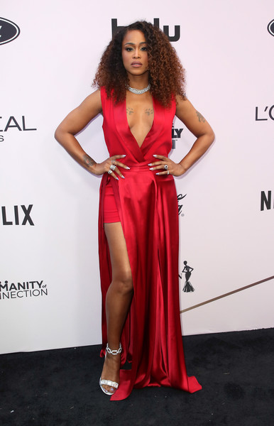 Eve Evening Dress [clothing,fashion model,red carpet,dress,carpet,shoulder,hairstyle,flooring,gown,fashion,essence black women in hollywood awards luncheon,eve,celebrity,actor,essence,netflix,red carpet,fashion,model,party,beverly hills,california,beverly wilshire four seasons hotel]
