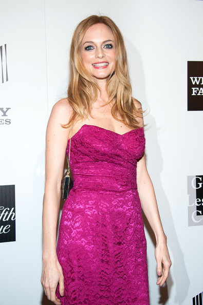 More Pics of Heather Graham Peep Toe Pumps (1 of 7) - Heather Graham Lookbook - StyleBistro