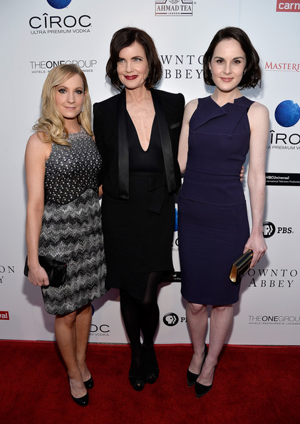 More Pics of Michelle Dockery Cocktail Dress (1 of 48) - Michelle Dockery Lookbook - StyleBistro