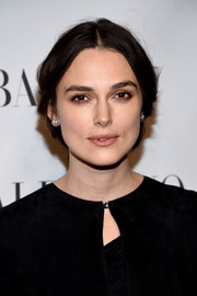 Keira Knightley kept it understated with this loose center-parted chignon at the Evening Honoring Valentino Gala.