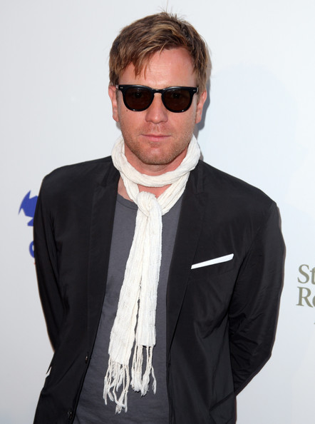 Ewan McGregor Messy Cut