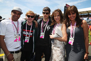 James Righton and Goldie Photo
