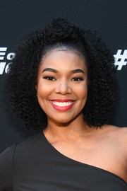 Gabrielle Union was a cutie at the 'Fate of the Furious' screening wearing her hair in tight, half-up curls.