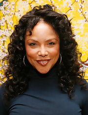 Actress Lynn Whitfield dazzled in her mid-length curls. The length of her curly mane is the perfect shape for her face.