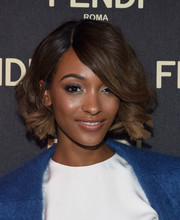 Jourdan Dunn attended the Fendi New York flagship store opening sporting the cutest curled-out bob.