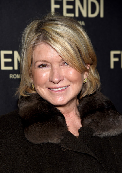 Martha Stewart kept it casual with this bob at the Fendi New York flagship store opening.