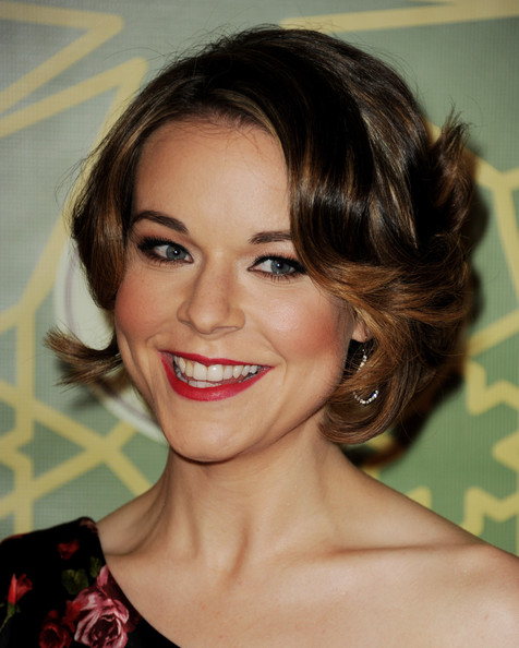More Pics of Tina Majorino Print Dress (1 of 5) - Tina Majorino Lookbook - StyleBistro [hair,face,hairstyle,eyebrow,lip,chin,beauty,brown hair,forehead,blond,tina majorino,fox all-star party - arrivals,pasadena,california,castle green,fox,all-star party]