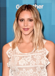 Katharine McPhee debuted a beachy blonde 'do at the 'America Idol' finale.