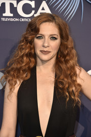 Rachelle Lefevre showed off a gorgeous curly 'do at the Fox Summer TCA 2018 All-Star Party.