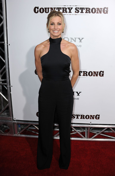 Faith Hill Halter Top [country strong,clothing,carpet,red carpet,dress,shoulder,premiere,fashion,joint,flooring,footwear,arrivals,faith hill,beverly hills,california,screen gems,the academy of motion picture arts sciences,screening,screening]