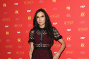 Famke Janssen Lace Dress