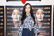 Famke Janssen Mini Skirt