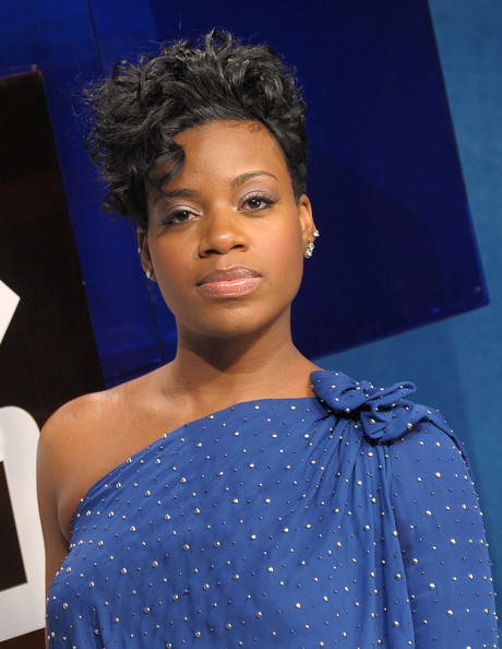Fantasia+Barrino in Fantasia Visits BET's