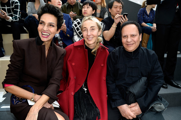 Front Row at Louis Vuitton