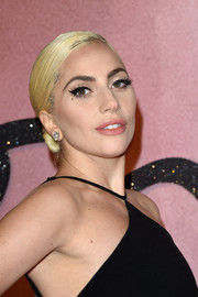 Lady Gaga made her eyes pop with a swipe of winged liner.