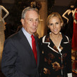 Tory Burch and Michael Bloomberg