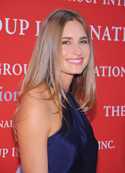 Lauren Bush's luxurious hair was super straight and shiny at Fashion Group International's 28th Annual Night of the Stars.