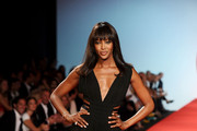 Model Naomi Campbell walks the runway at Fashion For Relief at Forville market during the 64th Annual Cannes Film Festival on May 16, 2011 in Cannes, France.