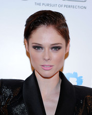 Coco Rocha looked oh-so-cool with her gelled short 'do and smoky eyes at the Fashion World of Jean Paul Gaultier reception.