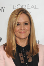 Samantha Bee sported a sleek straight 'do at the Fast Company Innovation Festival 2016.