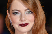 Emma Stone Metallic Eyeshadow