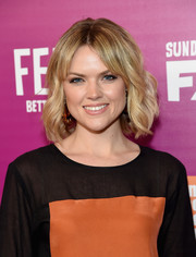 Erin Richards looked oh-so-cute with her short waves and parted bangs at the 'Feud: Bette and Joan' NYC event.