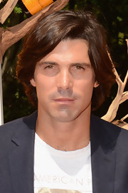 Nacho Figueras wore his hair in subtle waves at the Veuve Clicquot Polo Classic.