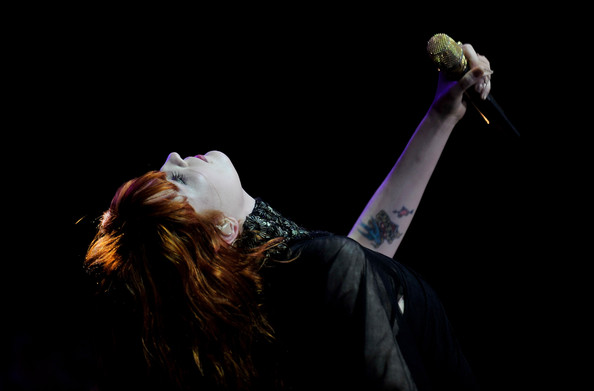 Florence Welch Body Art