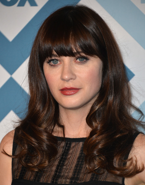 More Pics of Zooey Deschanel Cocktail Dress (1 of 13) - Zooey Deschanel Lookbook - StyleBistro