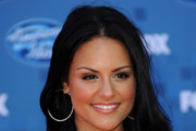 Singer Pia Toscano arrives at Fox's