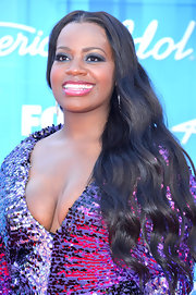 Fantasia Barrino wore her soft waves down at the 'American Idol 2012' finale.