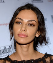 Madalina Diana Ghenea pulled off this messy ponytail at the Fox Searchlight TIFF party.