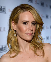 Sarah Paulson was gorgeously coiffed in romantic waves when she attended the Fox Searchlight TIFF party.