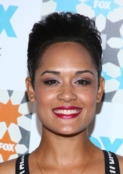 Grace Gealey went for a punky look with this pompadour during the Fox Summer TCA All-Star Party.
