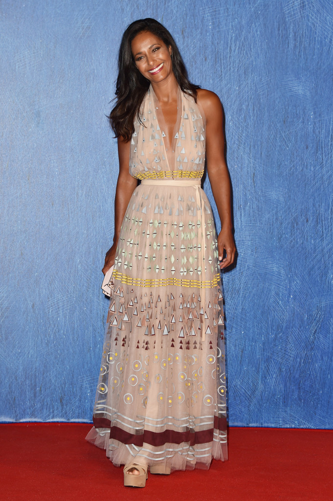 Rula Jebreal Every Stunning Look From The 2016 Venice Film Festival Stylebistro