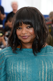 Octavia Spencer rocked a wavy 'do with blunt bangs at the the 'Fruitvale State' red carpet at the Cannes Film Festival.