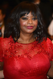 Octavia rocked waves and bang at the red carpet of 'Fruitvale Station' at Cannes.
