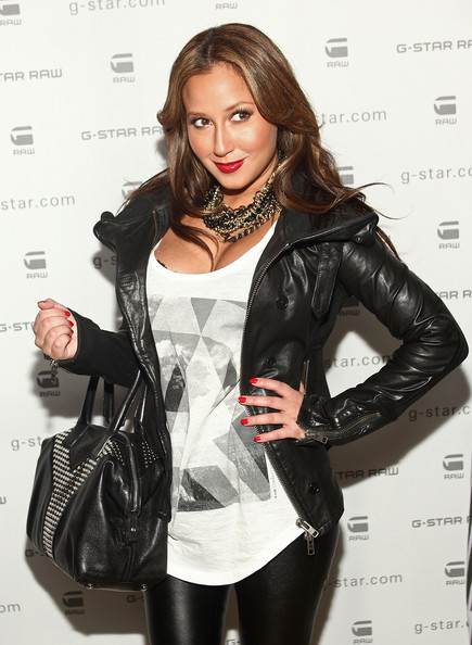 More Pics of Adrienne Bailon Studded Tote (1 of 4) - Adrienne Bailon Lookbook - StyleBistro