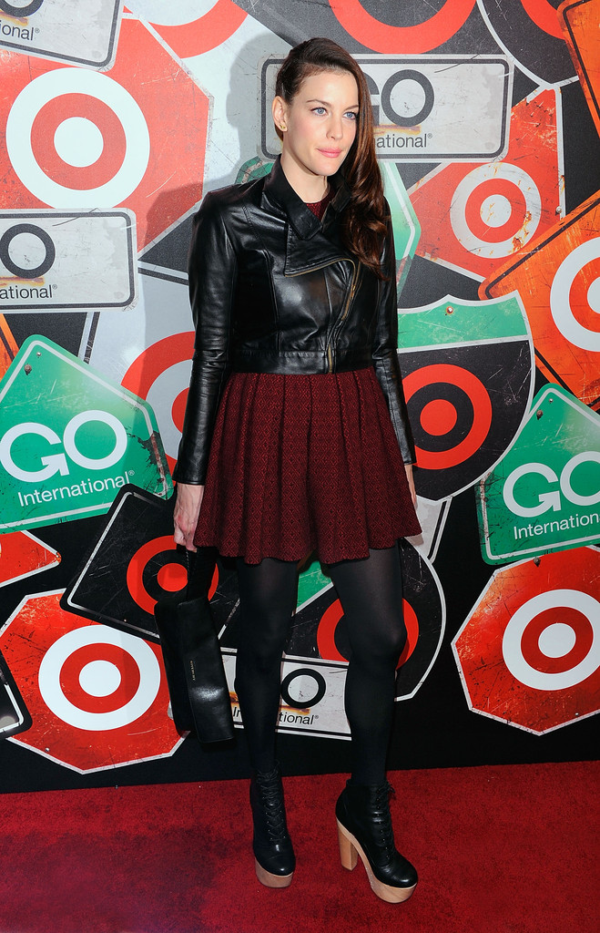 Liv Tyler attends the GO International Designer Collective Launch at the Ace Hotel on March 10, 2011 in New York City.