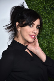 Sarah Silverman proved messy could be cute when she wore this ponytail to the GQ 20th Anniversary Men of the Year party.