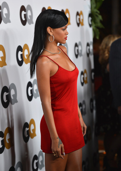 More Pics of Rihanna Cocktail Dress (4 of 42) - Rihanna Lookbook - StyleBistro