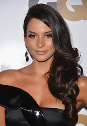 Genesis Rodriguez looked stunning with her side-swept curls at the GQ Men of the Year Party.